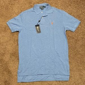 NWT Polo by Ralph Lauren blue men's polo